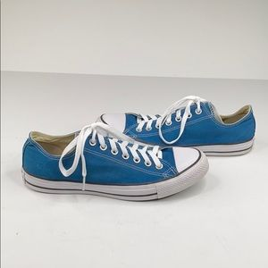 Converse Chuck Taylor blue low rise sneakers - 9